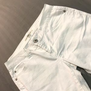 Denim - White skinny jeans